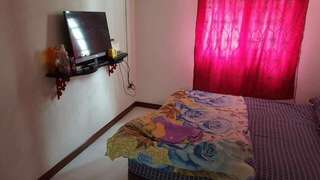 Master Bed Room + Living Room For Rent+No Owner Staying