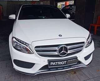 SAMBUNG BAYAR/CONTINUE LOAN  MERCEDES BENZ C250 AMG YEAR 2016 MONTHLY RM 2950 BALANCE 5 YEARS ROADTAX VALID PANAROMIC ROOF RED LEATHER SEAT TIPTOP CONDITION  DP KLIK wasap.my/60133524312/c250amg