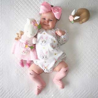 ✔️ BABY GIRL ROMPER