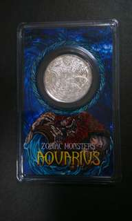 AQUARIUS silver coin