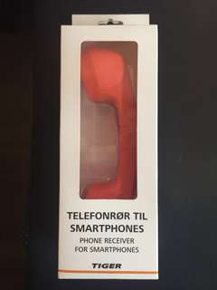 Wired phone receiver for smartphone- new unopened