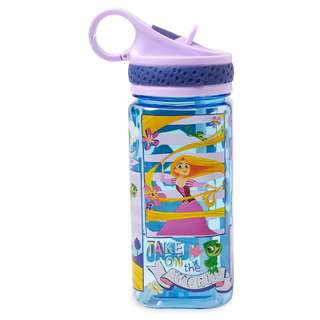 Rapunzel Water Bottle with Built-In Straw