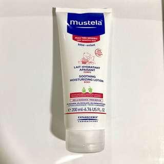 Mustela soothing moisturizing lotion