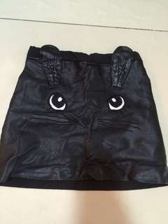 H&M cat mini skirts