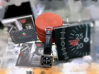 Tag Classic Monco Heuer Full set 有證有盒9 成新