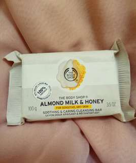 The Body Shop Almond Milk & Honey Soap Bar (+bonus)