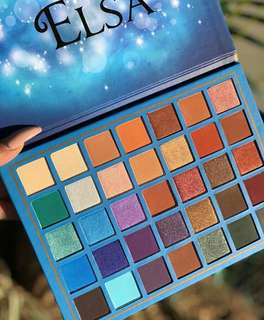 🚚 Elsa Eyeshadow pallete