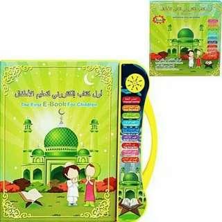 Mainan Edukasi Anak Ebook Muslim 3 Bahasa