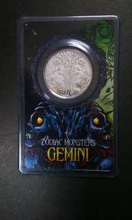 GEMINI silver coin