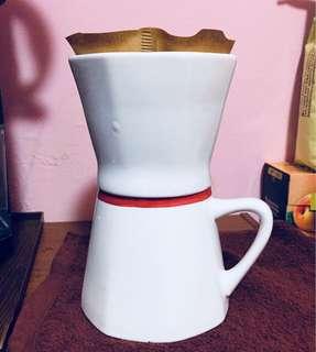 手沖咖啡陶瓷杯組