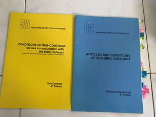 🚚 articles and conditions of building contract SIA