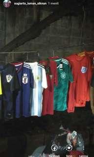 Jersey grade ori piala dunia