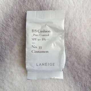 Laneige Pore Control BB Cushion Refill - Shade 33