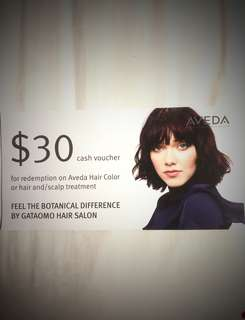 GATAOMO HAIR SALON $30 Cash Voucher