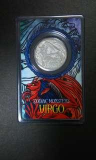 VIRGO silver coin