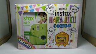 Pre-loved Instax Mini 9 (used twice only)