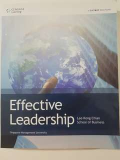 SMU Leadership and Teambuilding Textbook