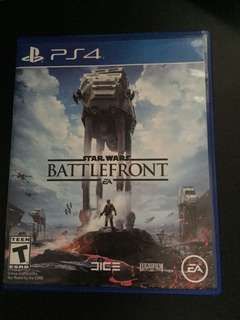 PS4 Star Wars Battlefront (Used)