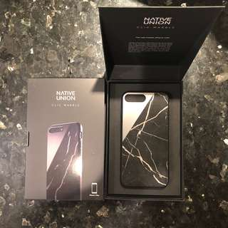 Native Union CLIC Marble case -iPhone 7 plus