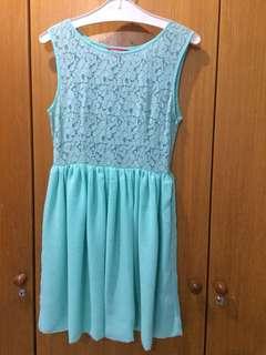 Dress lace mint