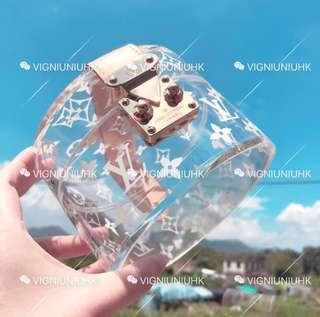 (Sold) LV 2017聖誕系列透明小圓盒
