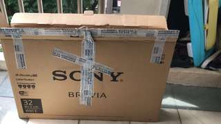 Sony 32 inch TV Carton empty boxes