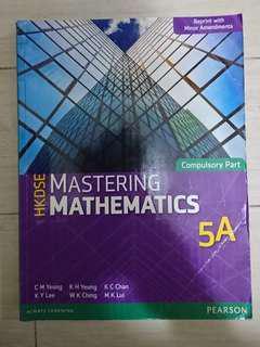 Hkdse mastering mathematics 5A