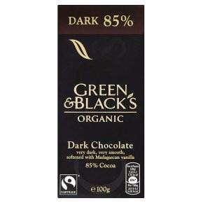 🚚 [現貨] 英國代購 英國GREEN & BLACKS 85%有機黑巧克力片 100g