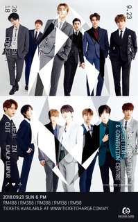 SEVENTEEN Concert ticket #IDEALCUTinKL  📣 Tickets to let go ❗  VIP V9 x1  🔸 RM 497 🔸  DM or WhatsApp me at 0124069168 if interest. Thanks💕