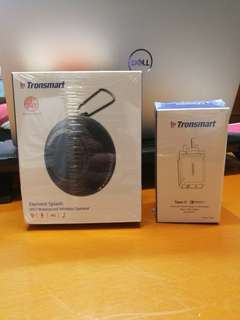[SEALED] Tronsmart Waterproof Speaker + Tronsmart QC3 Charger
