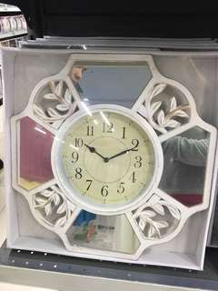 2 IN 1 WALL CLOCK