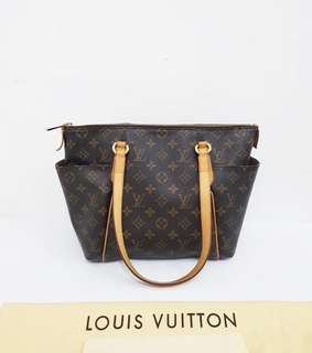 Preloved LV totally mono PM   bag, dustbag and receipt 2012  