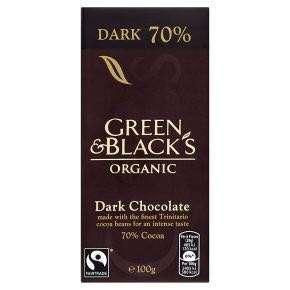 🚚 [現貨] 英國代購 英國GREEN & BLACKS 70%有機黑巧克力片 100g