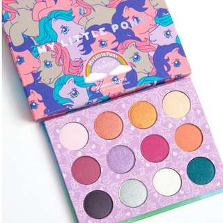 {IN STOCK!} ColourPop My Little Pony Eye Shadow Palette