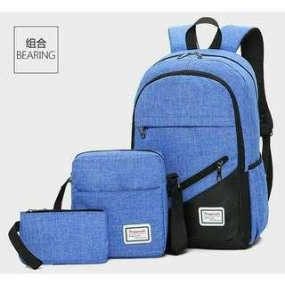 Bagpack set of 3