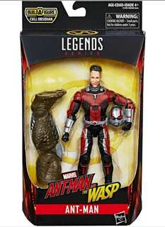 """MISB Marvel Legends Ant-Man And The Wasp 6"""" Ant-Man With Cull Obsidian Baf Action Figure"""