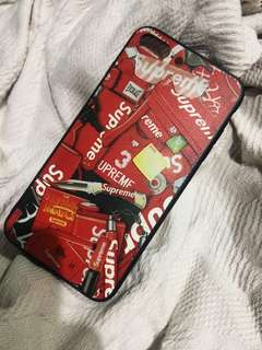 iPhone 7 plus Supreme Red Case