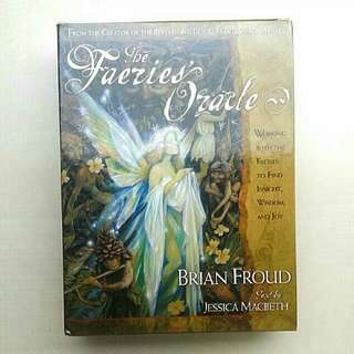 [LARGE DISCOUNT] Authentic The Faeries' Oracle Divination Card Set BY Brian Froud, 66 Oracle Cards + Hardbound Book, UNUSED, Tarot, Bestseller Work