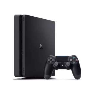 PlayStation 4 PS4 SLIM 500GB Black FREE Stand[Free Delivery]