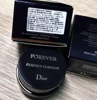 🚚 【Dior】超完美持久氣墊粉餅  #020自然膚 精裝版4g