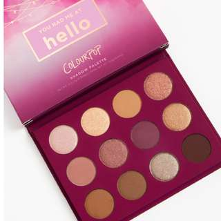 {IN STOCK} ColourPop You Had Me At Hello Eye Shadow Palette