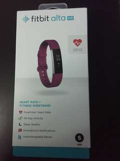 Fitbit Alta HR Fitness And Heart Rate Tracker (Brand New Sealed)