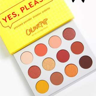 {IN STOCK} ColourPop Yes Please Eye Shadow Palette