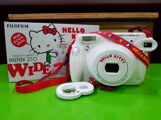 Instant Camera Instax 210 Wide Hello Kitty