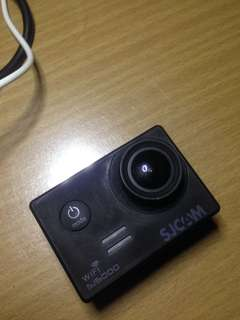 Sjcam sj5000wifi with sdcard annd full accessories