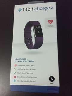 Fitbit Charge 2 Fitness And Heart Rate Tracker (Brand New Sealed)