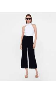 Looking for ZARA high-waist trousers