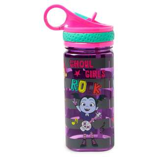 Vampirina Water Bottle with Built-In Straw