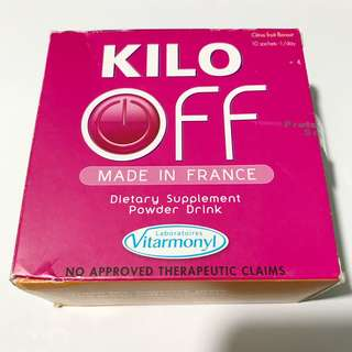 Kilo off dietary supplement powder drink