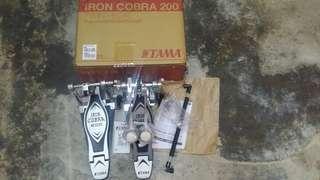 Tama twin pedal iron cobra 200